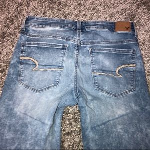 American Eagle Outfitters Jeans - American Eagle Skinny Jeans Stretch Acid  6 Long